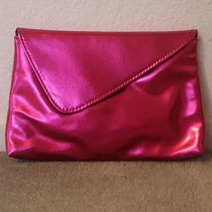 bareMinerals Hot Pink Makeup Bag